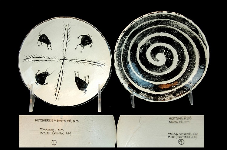 PAIR Prehistoric N. American Reproduction Plate