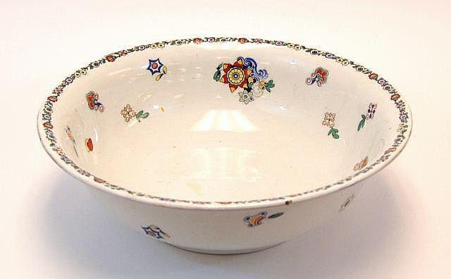 Ceramic Floral & Abstract Wash Basin