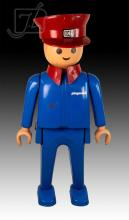 Playmobil Train Conductor Store Display Statue