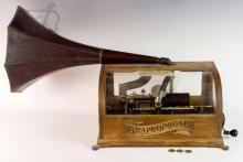 Antique Columbia Graphophone Cylinder Phonograph