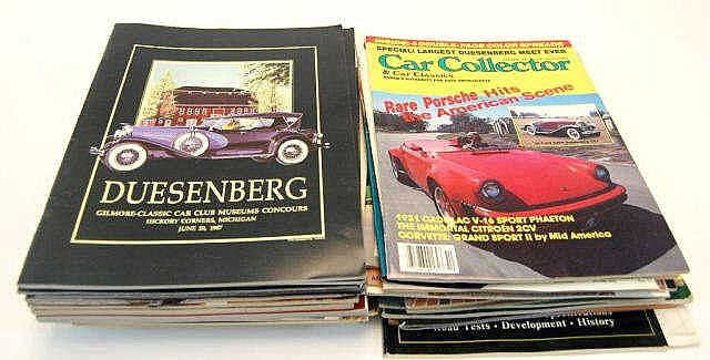 Lot Of Car Collector Magazines Vintage Ephemera