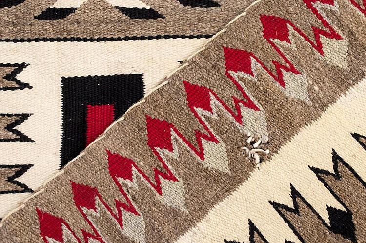 Navajo Hand Woven Wool Rug