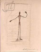 Manner Of Alberto Giacometti (1901-1966) Figure