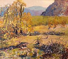 Augustus W. Dunbier (1888-1977) Four Peaks Arizona