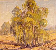 Lewis Ryan (1894-1982) Landscape w/ Trees