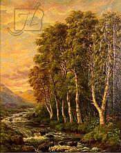 Camille Roqueplan (1800/03-1855) Landscape