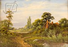 Edwin Cole (1868-?) Landscape