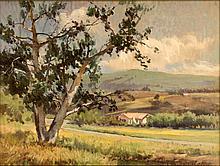 William Hubacek (1871-1958) Landscape