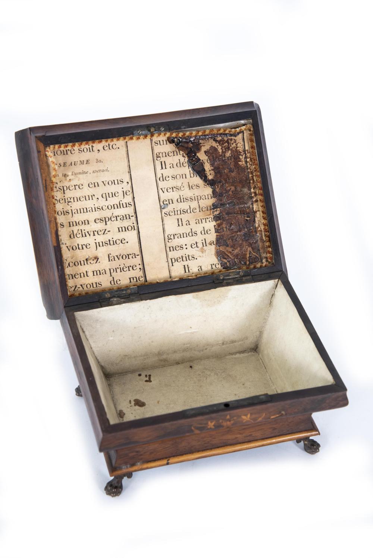 An Antique French Inlaid Workbox