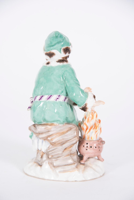 KPM Porcelain Figure, The Skater