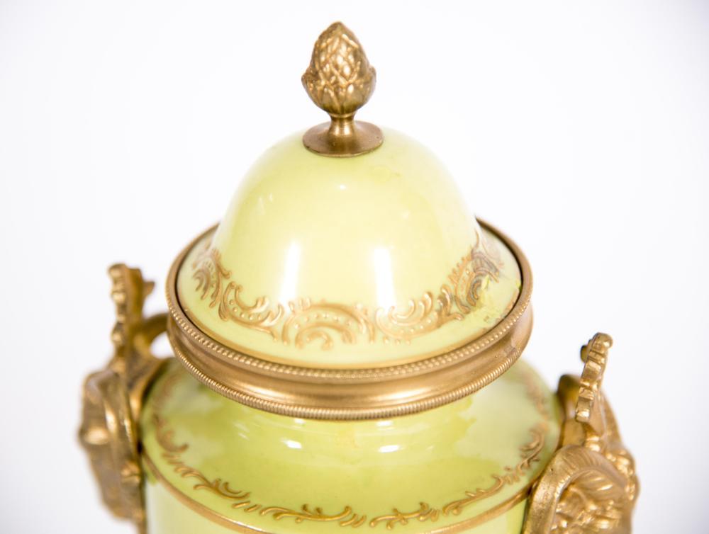 19th Century Continental Porcelain Urn