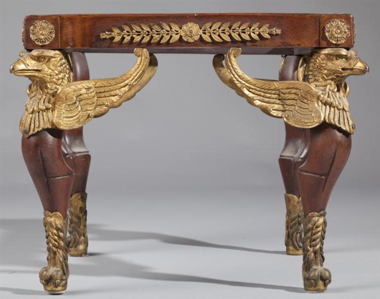 French Empire footstool