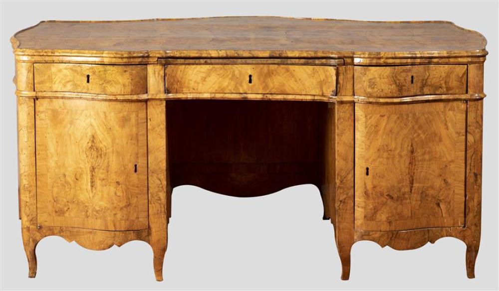 18th Century Italian Olive Wood Desk