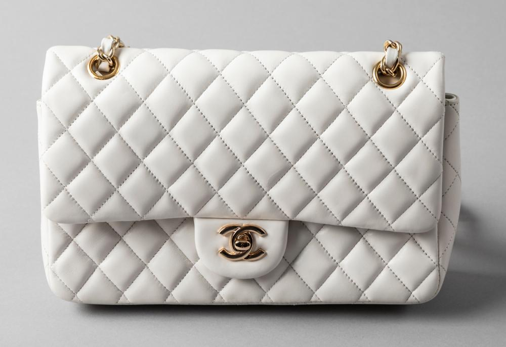 Chanel Made in France Classic Double Flap Quilted Handbag