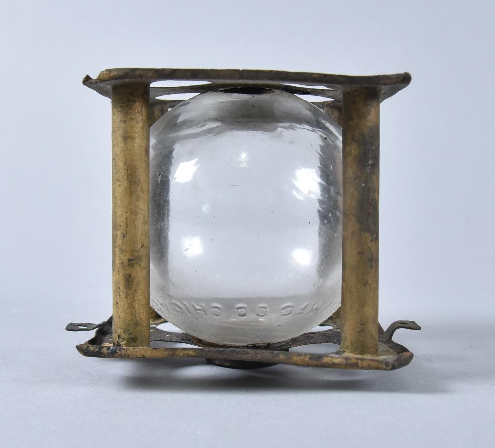 Ballot Box Torch, Dated 1880