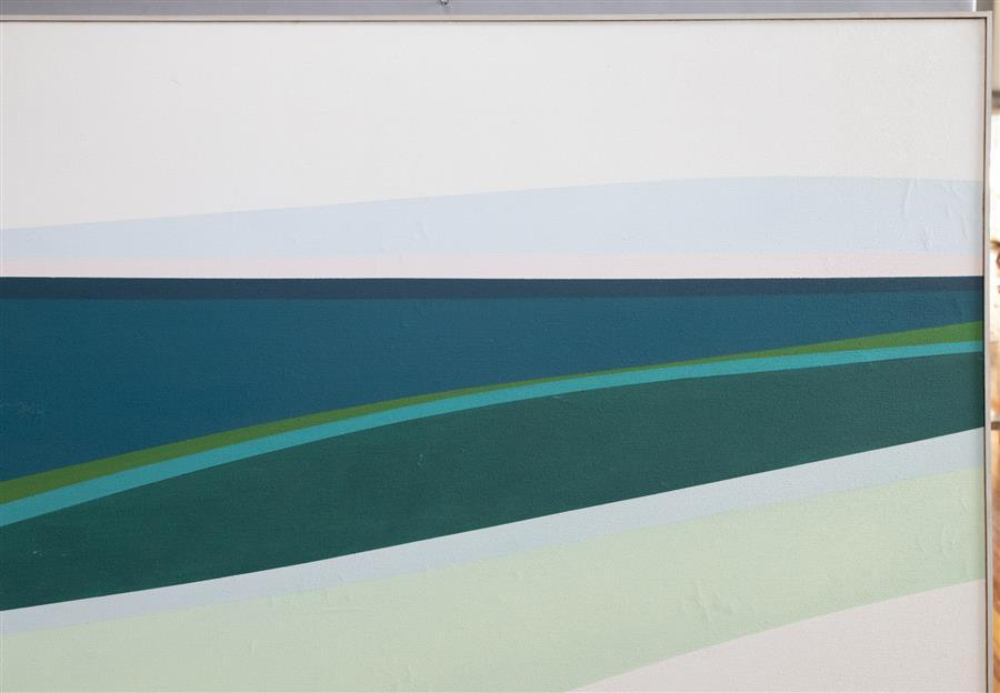 Helen Lundeberg, California/Illinois (1908-1999), Fine Day, 1963, oil on canvas, 60 x 60 inches