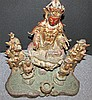 Image 6 for Chinese Ming Bronze Guanyin Figural Group