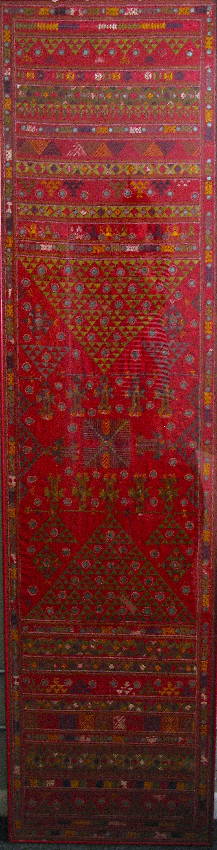 Central Asia Embroidery Panel