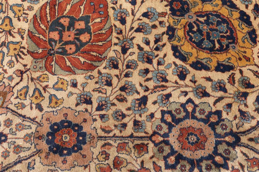 Persian Tabriz Palace Carpet Provenance: From a Prominent Saint Louis Estate