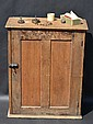Old oak Express Co. stationary cabinet approx. 30