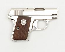 Colt Model 1908 semi-auto pistol, .25 cal., 2