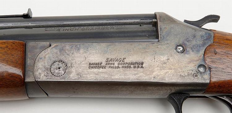 Savage Model 24 combo gun,  22LR/ 410 gauge, 24