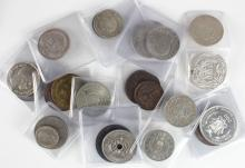 World in high grades (23) a good mix of countries mostly early 20th Century items with some in silver, NEF to Unc