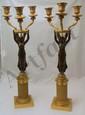 Brass Angel Candlesticks