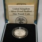 United Kingdom Silver Coin 1 Pound.