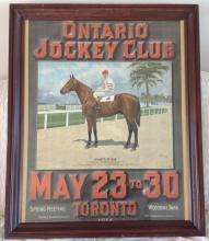Ontario Jockey Club - 1914 Litho