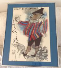 Jester Litho by Ben Shaham