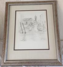 Edna Hibel Venise Pencil 47/50