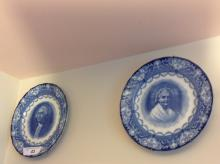 Royal Doulton Martha & George Washington Plates