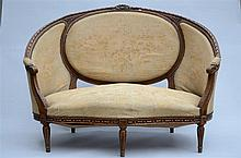 A Louis XVI style canap_