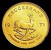 South Africa Krugerrand 1975 Unc