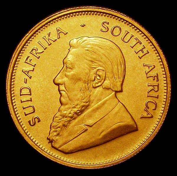 South Africa Krugerrand 1974 Unc