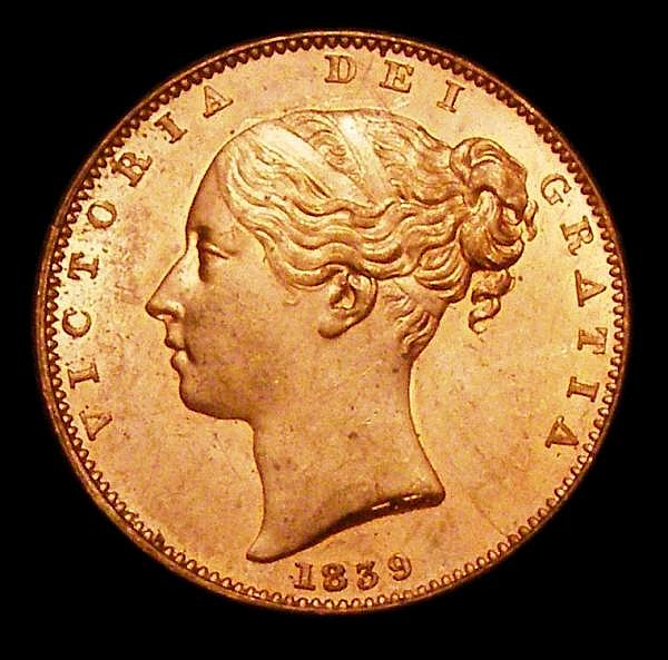 Isle of Man Farthing 1839 S.7419 UNC with around 75% lustre with some very minor toning on the rim in a couple of places