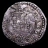Italian States - Naples and Sicily Half Ducaton Charles V undated (1519-1556) VF and pleasing