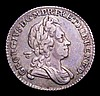 Sixpence 1726 Small Roses and Plumes ESC 1602 NVF/VF the reverse nicely toned