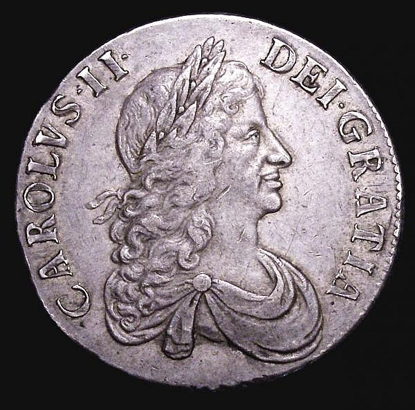 Crown 1666 XVIII ESC 32 VF with some adjustment lines below the date