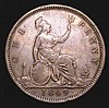 Penny 1869 Freeman 59 dies 6+G approaching Fine with all major details clear