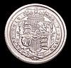 Shilling 1817 ESC 1232 Lustrous UNC, slabbed and graded LCGS 82