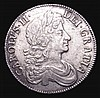 Crown 1679 Third Bust  TRICESIMO PRIMO ESC 56 VF or slightly better, bold and pleasing