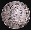 Crown 1671 Second Bust ESC 41 Fine or better with some light haymarks and an attractive old tone, nice eye appeal for the grade