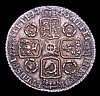 Sixpence 1743 Roses ESC 1614 NEF/GVF the obverse once cleaned, now retoning
