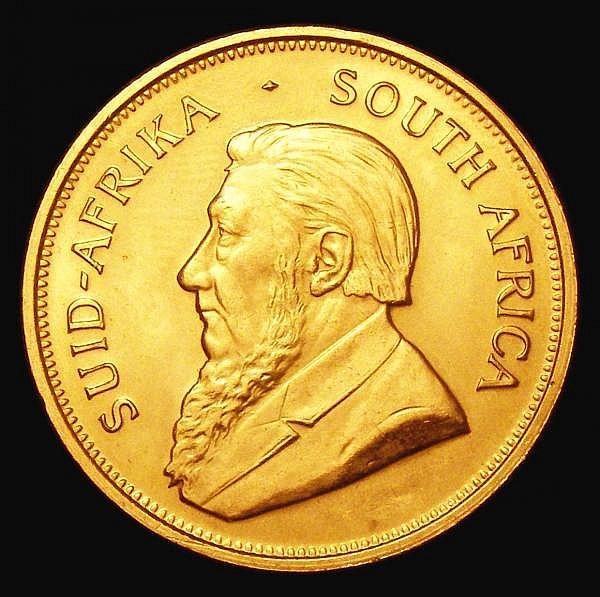 South Africa Krugerrand 1974 EF