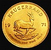 South Africa Krugerrand 1971 GEF