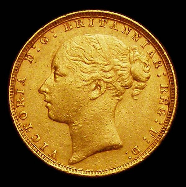 Sovereign 1880 George and the Dragon Marsh 91 NVF