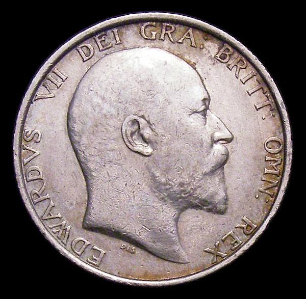 Shilling 1905 ESC 1414 NVF Rare