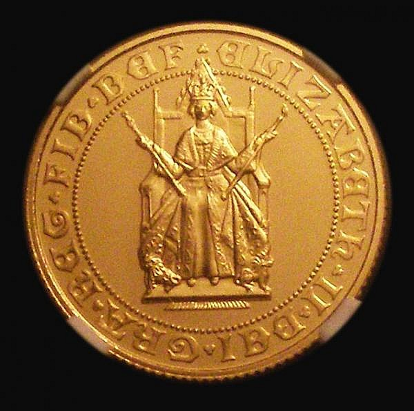 Sovereign 1989 500th Anniversary of the First Gold Sovereign Proof NGC PF70 Ultra Cameo